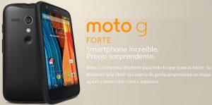 Moto G Forte se oficializa en México;  Viene con solo un Grip Shell adicional