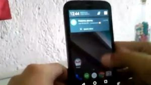 Moto G ejecutándose en Android L visto