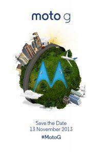 Moto G se anunciará el 13 de noviembre