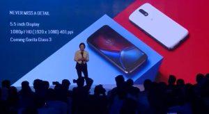 Lanzamiento de Moto G4 con pantalla Full HD de 5.5 pulgadas y procesador octa-core