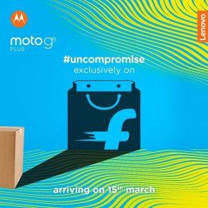Moto G5 Plus se lanzará en India el 15 de marzo exclusivamente en Flipkart