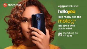Moto G6 se lanzará en India el 4 de junio como exclusivo de Amazon