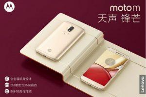 Moto M con pantalla Full HD de 5.5 pulgadas y escáner de huellas dactilares presentado