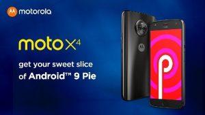 Moto X4 comienza a recibir la actualización de Android Pie en India