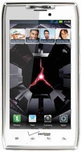 Motorola DROID RAZR viene en un avatar blanco
