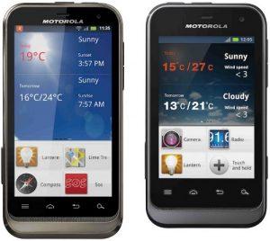Motorola Defy XT y Dual-SIM Defy Mini lanzados en India