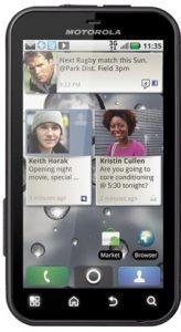 Motorola Defy obtiene la actualización de Froyo en India