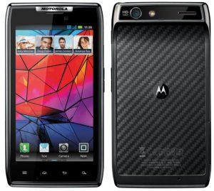 Motorola anuncia Motorola RAZR y DROID RAZR