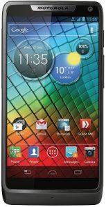 Motorola Razr i smartpone con procesador Intel de 2 GHz, anuncio ICS de Android
