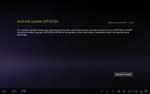 Motorola Xoom obtiene lentamente las actualizaciones de Android 3.2.1 OTA