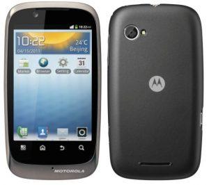 Motorola anuncia el XT531, un teléfono Android de rango medio