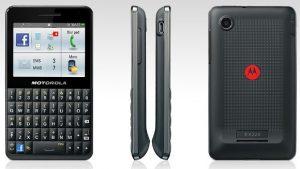 Motorola anunciará el Motokey Social [EX 225] Teléfono de Facebook