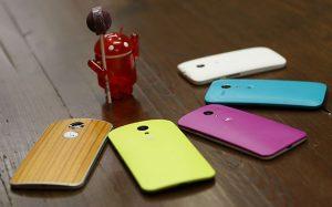 Motorola lanza la actualización de Android Lollipop para los nuevos Moto X y Moto G