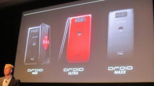Motorola lanza tres nuevos Droids: Droid Ultra, Droid Maxx y Droid Mini