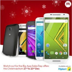 Motorola ofrece descuentos en los teléfonos inteligentes de la serie Moto para los 'Big App Sales Days' de Flipkart