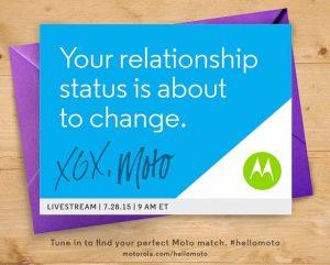 Motorola se prepara para el evento de lanzamiento el 28 de julio;  Podría lanzar Moto G y Moto X