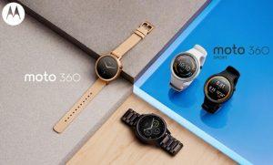 El reloj inteligente Moto 360 de segunda generación presentado en IFA 2015
