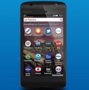Los teléfonos Firefox Mobile OS se lanzarán en nueve países en junio
