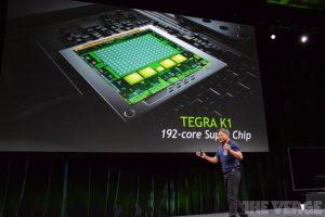 NVidia anuncia el chip Tegra K1 de 192 núcleos
