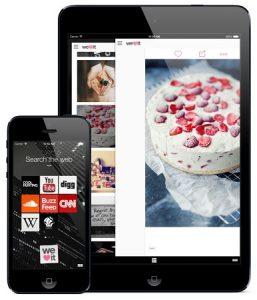 Navegador Opera Coast lanzado para iPhone con interfaz de usuario basada en gestos