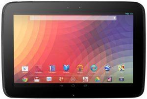 Nexus 10 se vuelve oficial con una pantalla de 10.1 pulgadas con 300 ppi, 2GB de RAM, Android 4.2 JB y más