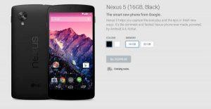 Nexus 5 y Nexus 7 (2013) pueden lanzarse en India el 12 de noviembre
