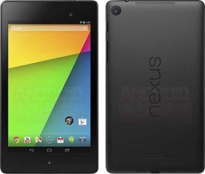 Renders de prensa actualizados de Nexus 7 filtrados
