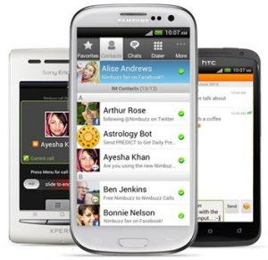 Nimbuzz para Android actualizado a v2.3, trae modo invisible, copiar y pegar y más