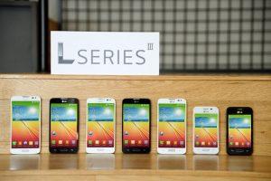 LG L Series III con LG L40, LG L70 y LG L90 presentados