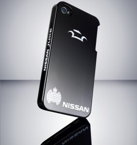 Nissan muestra una funda de iPhone con autocuración