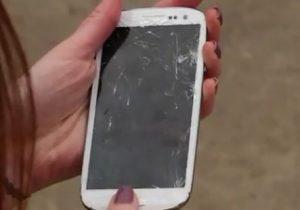 No deje caer su Samsung Galaxy S III - [Drop test Video]