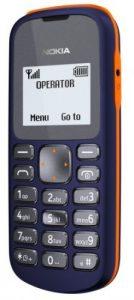 Nokia 103 es el teléfono móvil más asequible de la empresa.