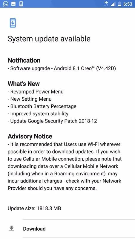 nokia-3-android-8-1-actualización-oreo