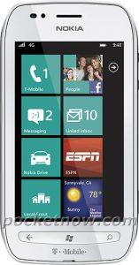 Nokia 710 llegará a T-Mobile en EE. UU., Se filtró una foto de prensa