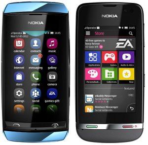 Nokia Asha 305, Asha 306 y Asha 311 anunciados