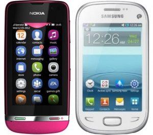Nokia Asha 311 o Samsung REX 90, ¿cuál debería comprar?