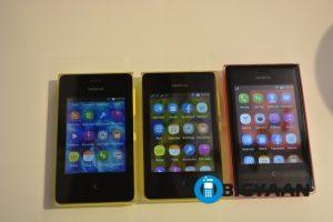 Práctica: Nokia Asha 500, Asha 502 y Asha 503