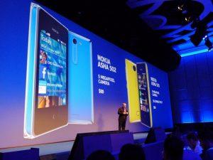 Nokia Asha 500, Asha 502 y Asha 503 revelados en Nokia World 2013