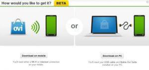 Nokia Drop alimenta la Tienda Ovi, envía aplicaciones y contenido de forma inalámbrica a su teléfono