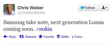 Nokia-Weber-Tweet