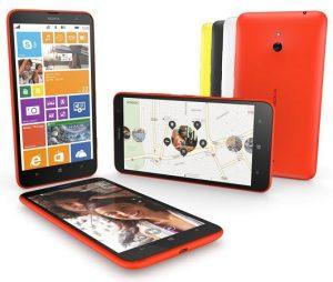 Nokia Lumia 1320 con pantalla de 6 pulgadas y procesador de doble núcleo anunciado