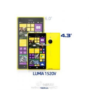 Nokia Lumia 1520V, un mini Lumia 1520 con una pantalla de 4.3 ″ 1080p en proceso [Report]
