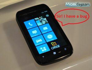 Nokia Lumia 710 plagado de error de prevención de llamada final