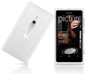 Nokia Lumia 800 ahora disponible en blanco en India