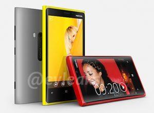 Nokia Lumia 920 con Pureview y Lumia 820 se filtran en línea