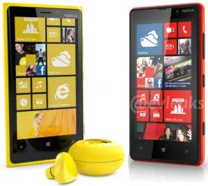 Nokia Lumia 920 y 820 ahora posan con auriculares Luna Bluetooth