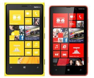 Nokia Lumia 920 y Lumia 820 se lanzarán en India en noviembre