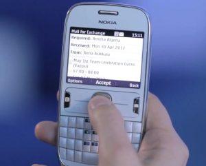 Nokia Mail for Exchange Beta ahora disponible en teléfonos Nokia Asha