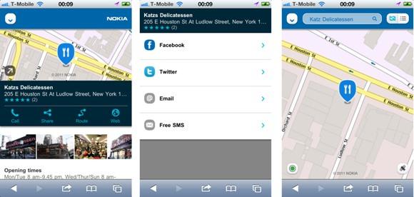 Nokia Maps ahora en iOS y Android