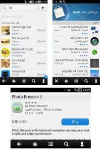 Nokia Store QML Client actualizado con soporte para E6 y mucho más